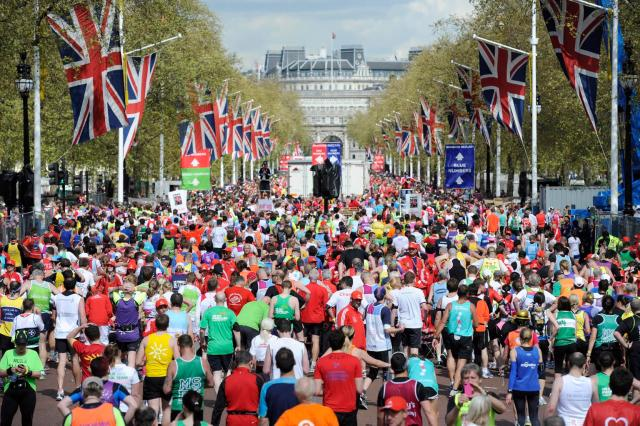 The 32nd London Marathon